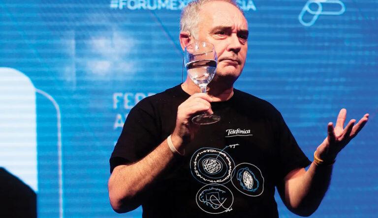 Ferran Adrià: «Crear es mucho más complejo de lo que parece»