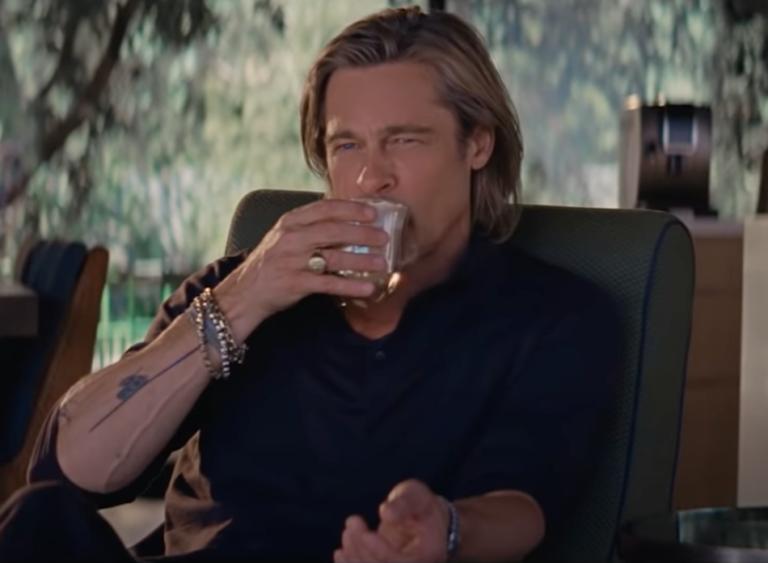 Brad Pitt embajador de café